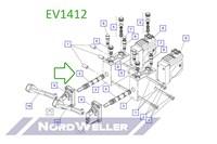 EV1412 Золотниковый шток
