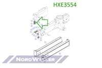 HXE3554 Ролик лебедки