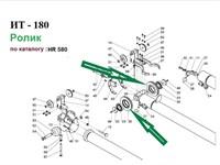 HR 580 Ролик