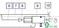 EA260 Соединительный штуцер