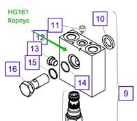 HG161 Корпус