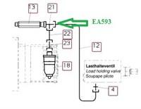 EA593 Тройник