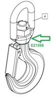 EZ1598 Грузовой крюк