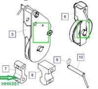 HHK051 Соединительная накладка