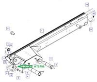 HT5796 Запирающий крюк