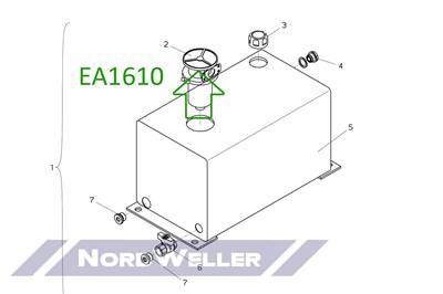EA1610 Фильтроэлемент сливной - фото 4787