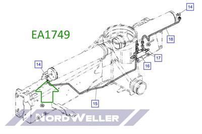 EA1749 Гидравлическое соединение /Adaptor/ - фото 4788
