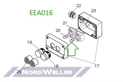 EEA016 Привод конечного выключателя - фото 4801