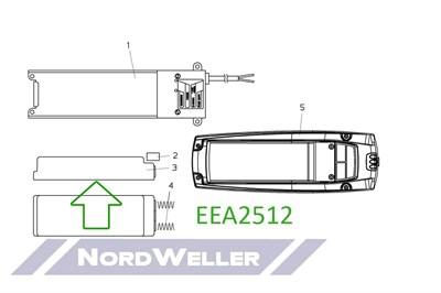 EEA2512 Аккумулятор - фото 4802