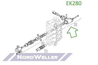 EK280 Кронштейн - фото 4826