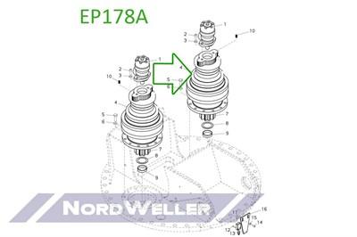 EP178A Редуктор поворота - фото 4832