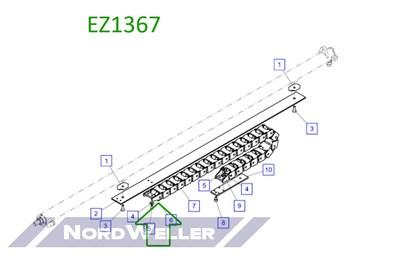 EZ1367 Крепежное звено энергоцепи - фото 4869