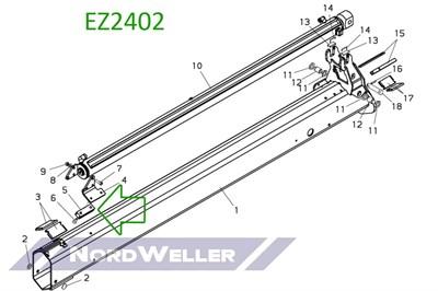 EZ2402 Блок управления - фото 4874