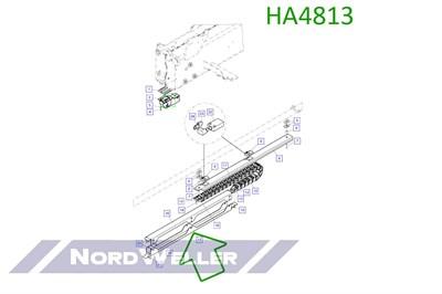 HA4813 Направляющий лоток - фото 4881