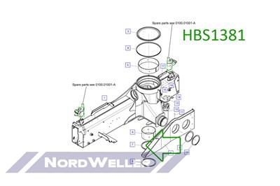 HBS1381 Направляющий блок - фото 4887
