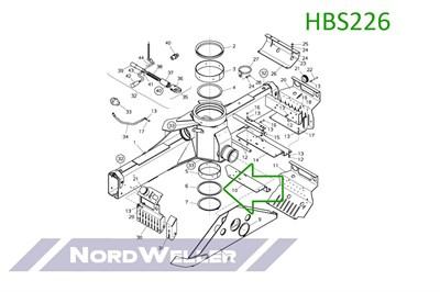 HBS226 Колцо уплотнительное - фото 4888