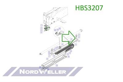 HBS3207 Распорная втулка - фото 4889