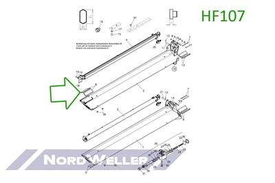 HF107 Направляющий блок - фото 4896