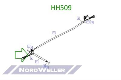 HH509 Ручка управления - фото 4914