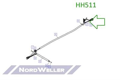 HH511 Ручка управления - фото 4915