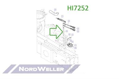 HI7252 Ось - фото 4925