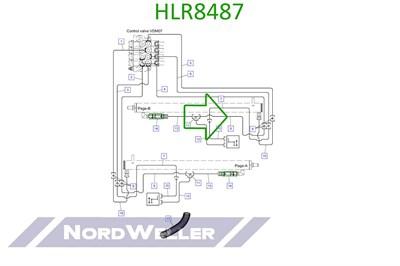 HLR8487 Трубопровод - фото 4934