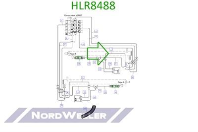 HLR8488 Трубопровод - фото 4935