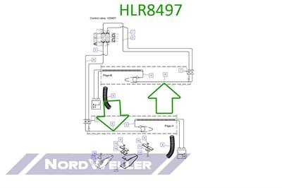 HLR8497 Трубопровод - фото 4936