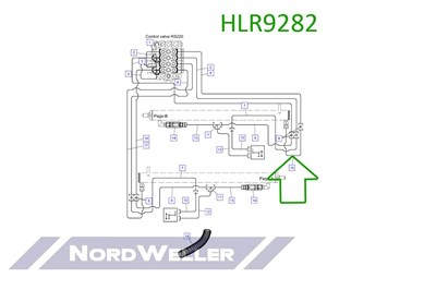 HLR9282 Трубопровод - фото 4940