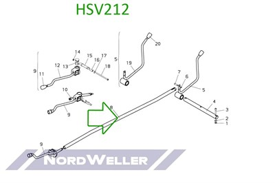 HSV212 Тяга - фото 4945