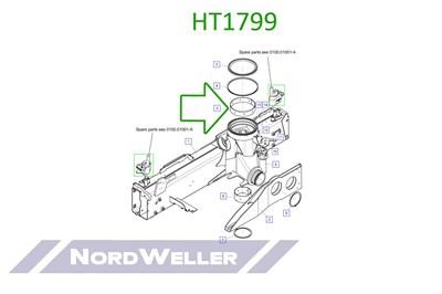 HT1799 Подшипник - фото 4948