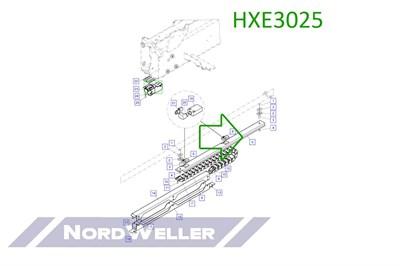 HXE3025 Направляющий лоток - фото 4957