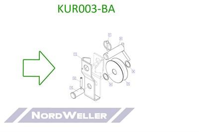 KUR003-BA Направляющий ролик в сборе - фото 4962