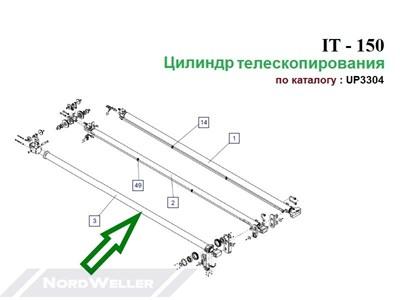Цилиндр IТ150.230 UP3304X - фото 7400