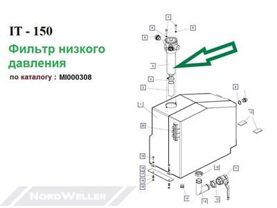 MI000308 Фильтр OMTP103C10N2-A + PV1 - фото 7407