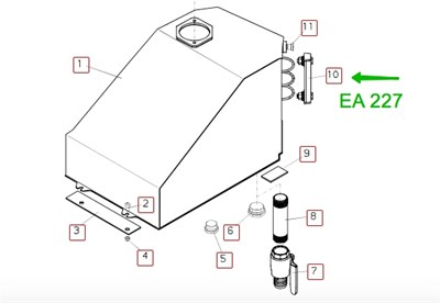 EA027 Индикатор уровня масла - фото 7603