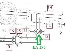 EA195 Соединительный штуцер - фото 7651
