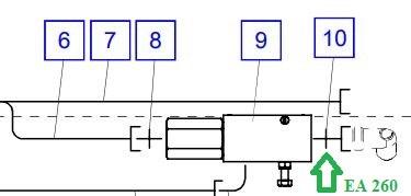 EA260 Соединительный штуцер - фото 7653