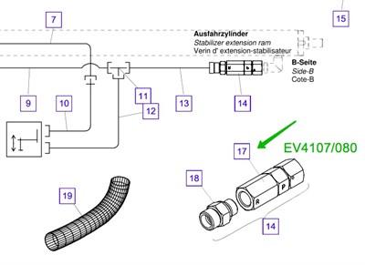 EV4107/080 Клапан - фото 7670
