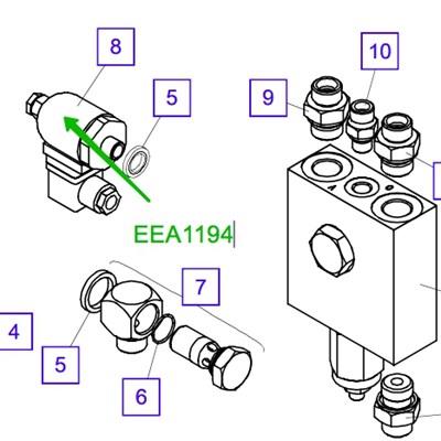 EEA1194 Реле давления - фото 7674
