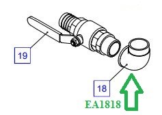 EA1818 Отвод трубы - фото 7712