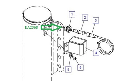EA2368 Соединительный штуцер - фото 7720