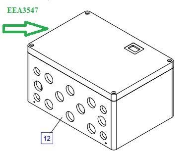 EEA3547 Соединительная коробка - фото 7747
