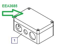 EEA3685 Соединительная коробка - фото 7750
