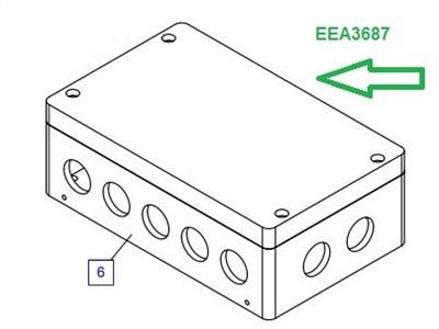 EEA3687 Соединительная коробка - фото 7752