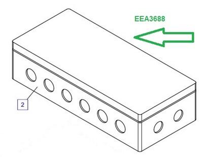 EEA3688 Соединительная коробка - фото 7753