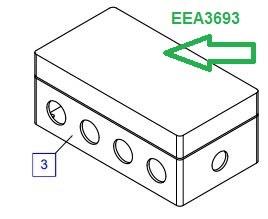 EEA3693 Соединительная коробка - фото 7756