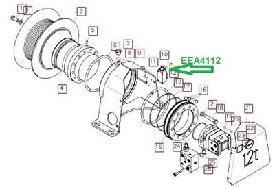 EEA4112 Концевой выключатель - фото 7773