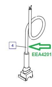 EEA4201 Штекерный разъем с кабелем - фото 7776