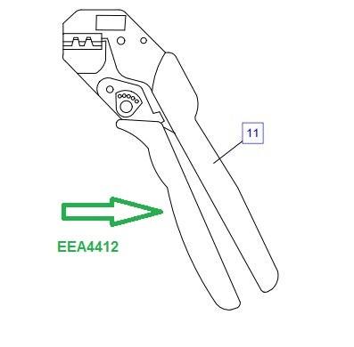 EEA4412 Обжимные клещи - фото 7779